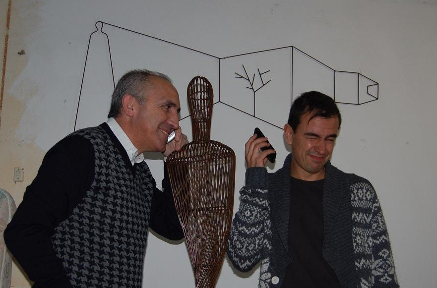 Diego Cabezas y yo