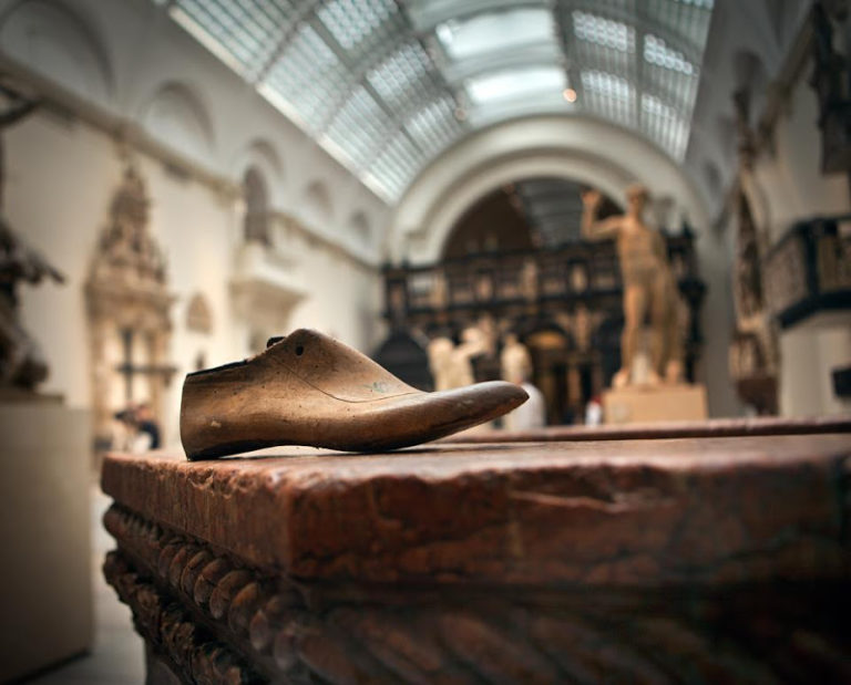 raul lamoso en el museo